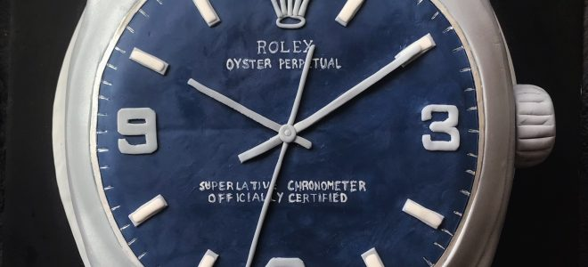 Every Rolex Tells A Story. This One's About Cake.